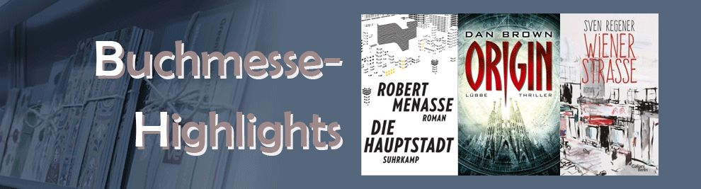 Buchmesse-Highlights